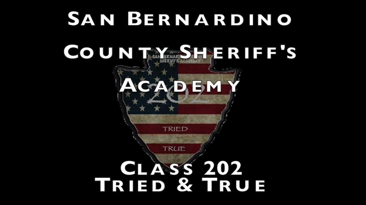 Sheriff's Academy Class 208