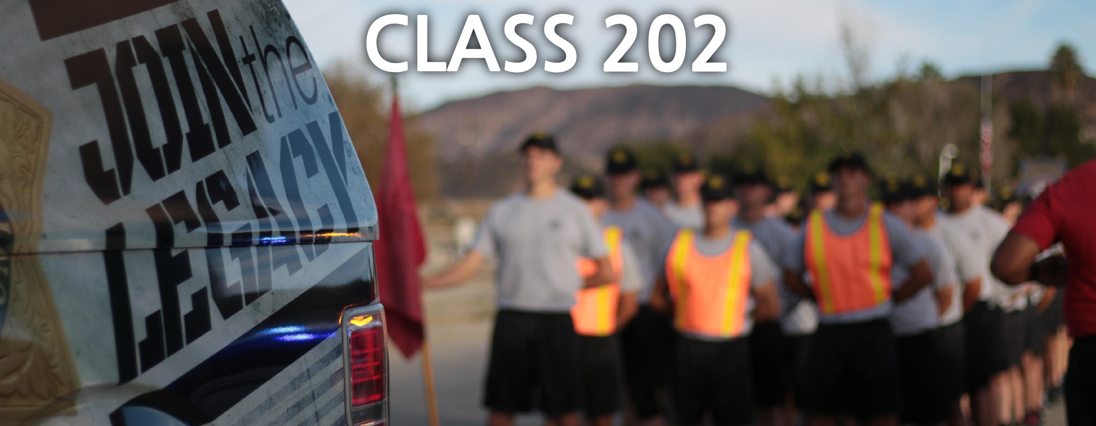 Sheriff's Academy Class 202